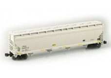 AZL ACF 4-Bay covered hopper 91701-1