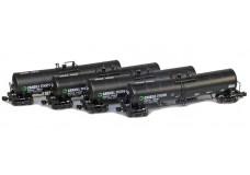 AZL 23000 Gallon funnel flow tank car 90504-2