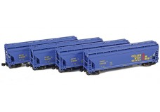 AZL ACF 3-bay covered hopper set 90312-1