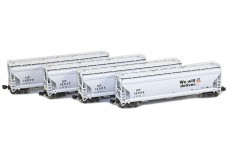 AZL ACF 3-Bay covered hopper set 90301-3