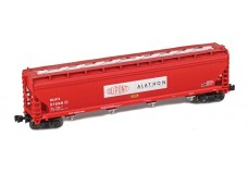 AZL ACF 4-bay covered hopper 91704-1