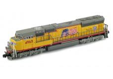 AZL SD70M - Flared - Flag 6104-2