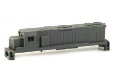 Rogue GP38-2 Shell - Gray ROGUNDEC