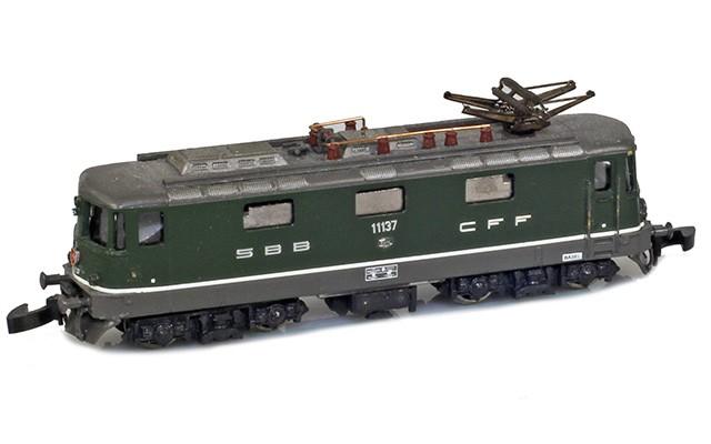 SZL Re 4/4 II - Green 1013