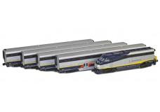 AZL Amtrak California car set 7001-2