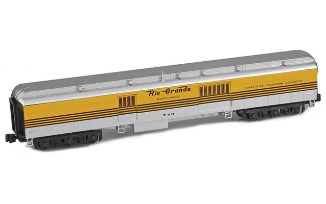 AZL Baggage heavyweight car 71625-2