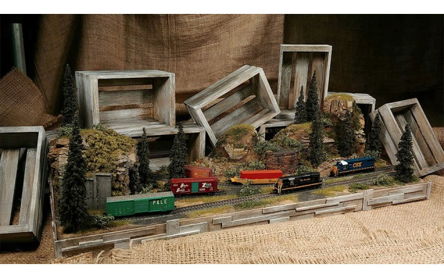 Ztrains ZTR-DIO-10 Diorama | Limited, One Available
