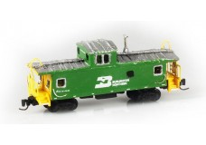 Custom Scratch Build Caboose CUST6851