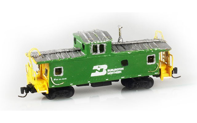 Custom Scratch Build Caboose CUST6851
