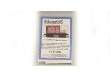 RSLaserkits 24 Foot MOW logging caboose RSL4402