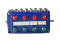 Marklin control box - blue 7072B