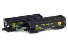Full Throttle Two-bay offset-side hopper set FT-3037
