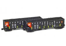 Full Throttle 100-ton Rib-side 3-bay hopper set FT-8019