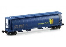 InterMountain 4-Bay cylindrical hopper with trough hatch 85104-03