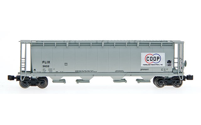 InterMountain 4-Bay cylindrical hopper with trough hatch 85108-2