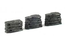Hay Bros Garage Scrap car stack CU3687
