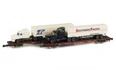 Marklin Flat car set with tractor-trailers 82340
