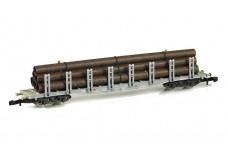 Marklin Stake car with pipe load 86551
