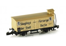 Marklin Saugings Berlin wood side boxcar 88662
