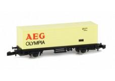 Marklin Container car AEG Olympia MA6713