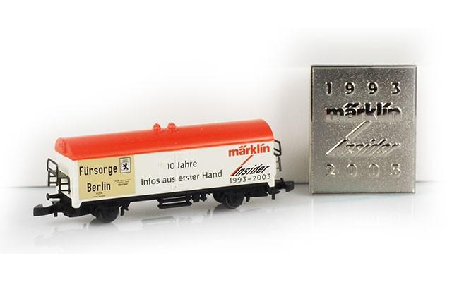 Marklin Marklin Insider car - 10 year anniversary.  MA6982