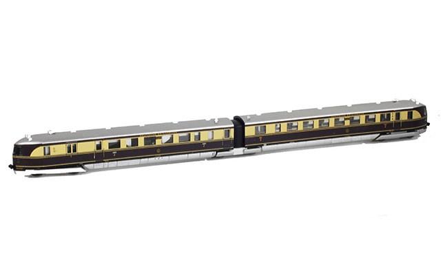 Marklin Flying Hamburg diesel railcar set 88871