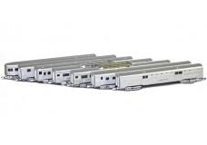 Marklin Passenger 7 car set - custom 87845-ATSF2