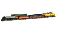 Marklin Freight car set with Mikado 8139_hos