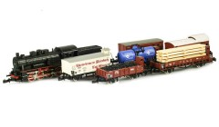 Marklin Class 55 steam locomotive freight set 81415