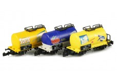 Marklin Henkel tank car set 86113