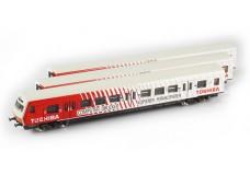 Marklin Toshiba S-Bahn commuter cars 8783