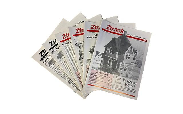 Ztrack Ztrack back issues - 1997 ZTRACK_VOL3_SET