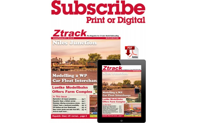 Ztrack Magazine: Canada: Two Year Subscription Print