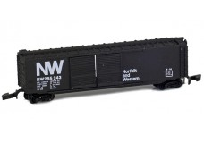 Micro-Trains 50' standard box car with double doors 13703-1