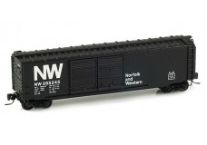 Micro-Trains 50' standard box car with double doors 13703-2