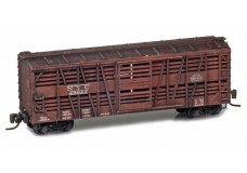 Micro-Trains 40' stock car weathered 13806-2bw