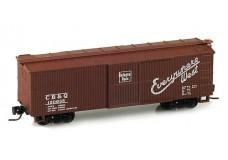 Micro-Trains 40' Double-Sheathed Wood Box Car, Single Door 13904-2B