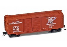 Micro-Trains 40' standard boxcar with double doors 14804-2
