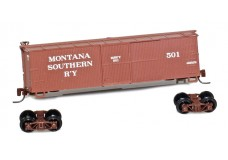 Micro-Trains 40' Single door boxcar 15110