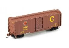 Micro-Trains 40' standard box car with single door 50000432B