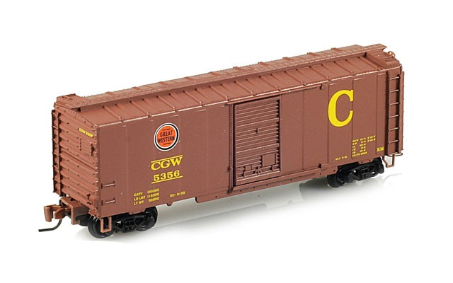 Micro-Trains 40' standard box car with single door 50000432