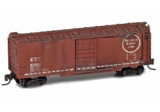 Micro-Trains 40' standard box car with single door weathered 50000530W