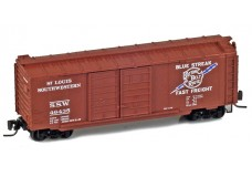 Micro-Trains 40' standard boxcar with double doors 50100040