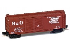 Micro-Trains 40' standard boxcar with double doors 50100292