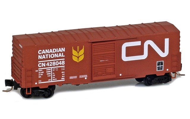 Micro-Trains 40' standard box car with single door no roofwalk 50300212