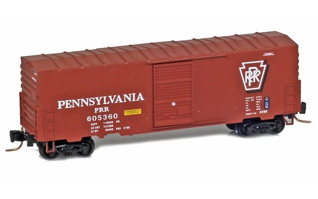 Micro-Trains 40' standard box car with single door no roofwalk 50300231