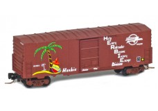 Micro-Trains 40' standard box car with single door no roofwalk 50300250