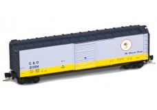 Micro-Trains 50' standard boxcar with single door - Cameo #4 50500424