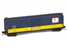 Micro-Trains 50' standard boxcar with single door - Cameo #5 50500425