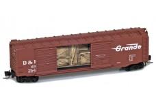 Micro-Trains 50' standard double door boxcar 50600141